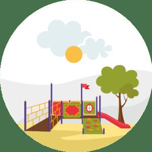 Оборудование для детских площадок для МГН