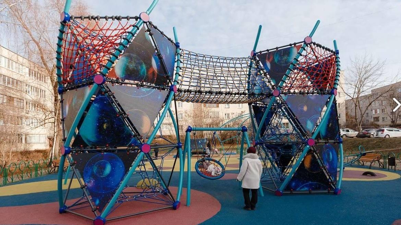 Детская игровая площадка по Губернаторской Программе «Подмосковье-2018»