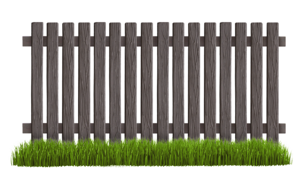 zabor s teksturoj trava