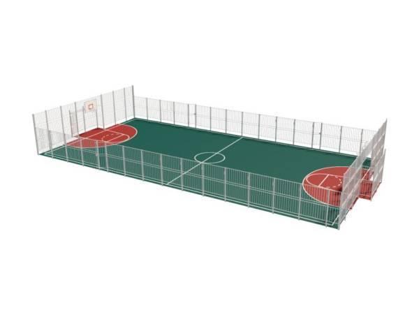 Ограждение для спортивной площадки 15х21