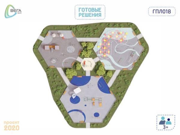 Игровая площадка для детей от 3 лет и старше 50 x 45,5 x 6,2 м