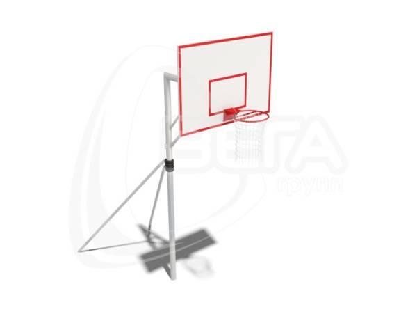 Стойка с баскетбольным щитом