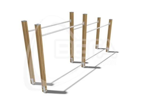 Брусья двухуровневые гимнастические