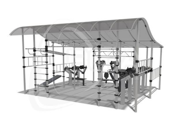 Атлетический павильон (тип 2)